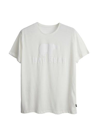 Bad Bear Bad Bear 19.01.07.002 Bad Bear Tee Beyaz Erkek T-Shirt Beyaz